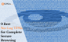 9 Best No-Log VPNs for Complete Secure Browsing