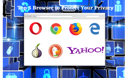 Top 5 Most Secure Browsers to Protect your Privacy
